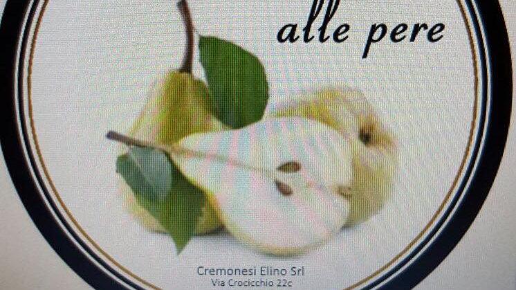 Pecorino with pears