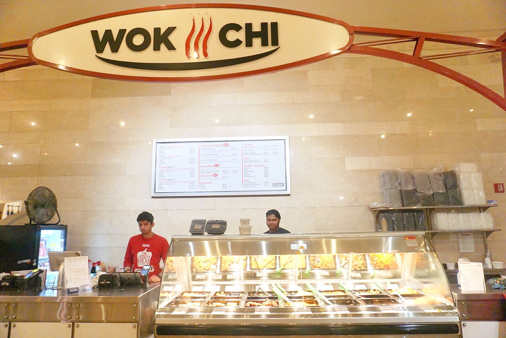 WOK CHI ASIAN RESTAURANT GRAND CENTRAL TERMINAL DINING CONCOURSE New York