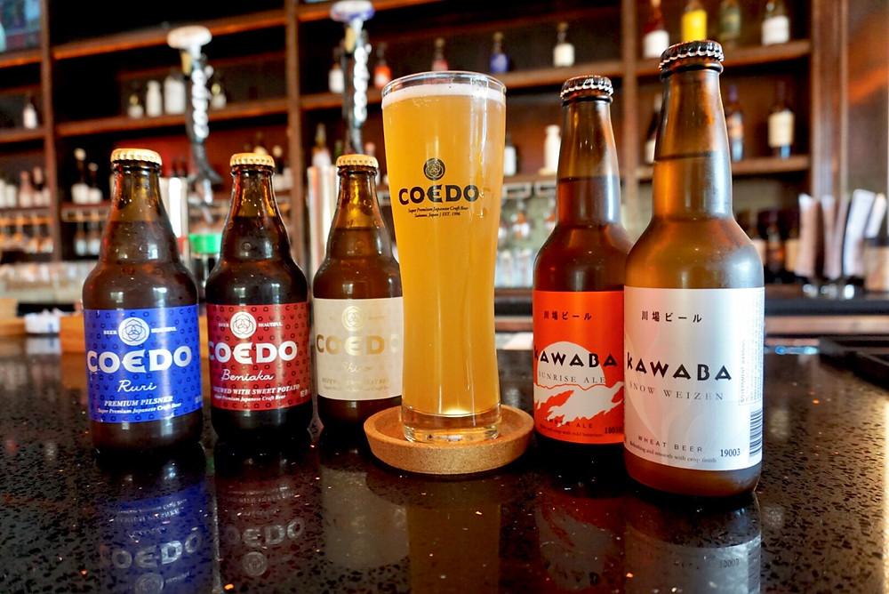 Japanese Beer. Bar. Lounge. Sake. Bottle. Glass. Temecula.