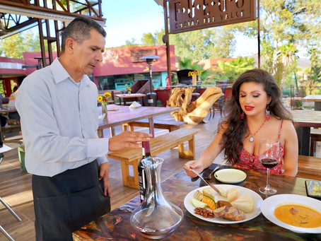RestauRanting: Fuego In Baja Wine Country
