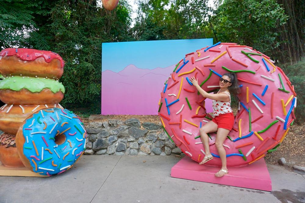 donuts girl sprinkles pop culture