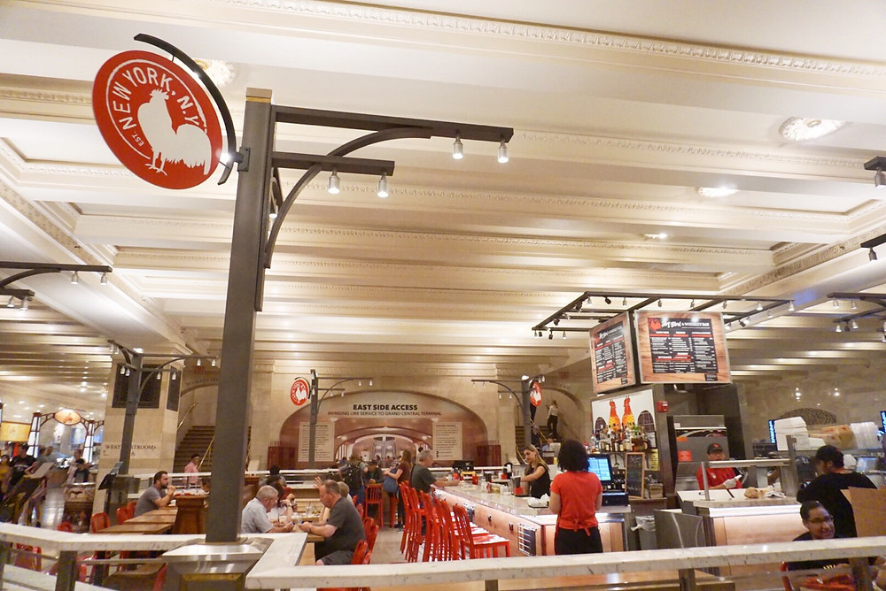 ARTBIRD AND WHISKEY BAR RESTAURANT GRAND CENTRAL TERMINAL DINING CONCOURSE New York