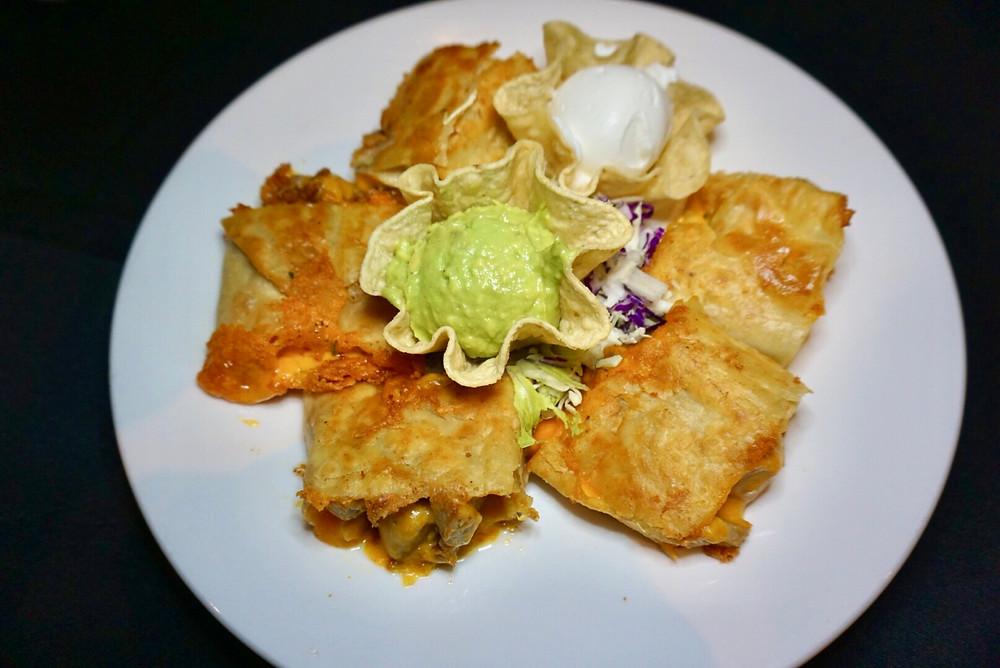 Burrito Chimichanga Guacamole Crema Mexican Food Comida