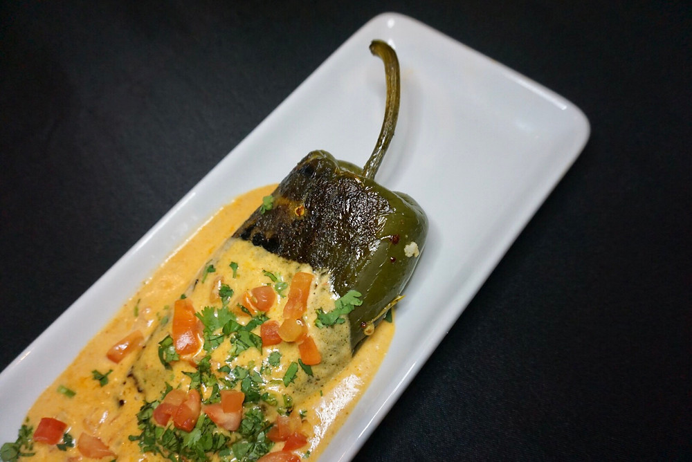 Chile Relleno Comida Food Roasted Pepper Mexican Food