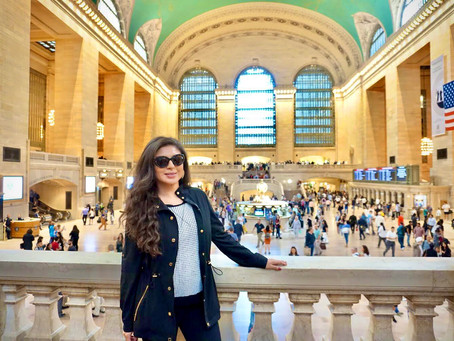 New York: The Food Hall Inside Grand Central Terminal