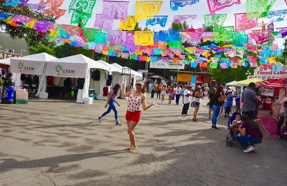 Los Angeles COUNTY FAIR MEXICAN WOMAN FIESTA