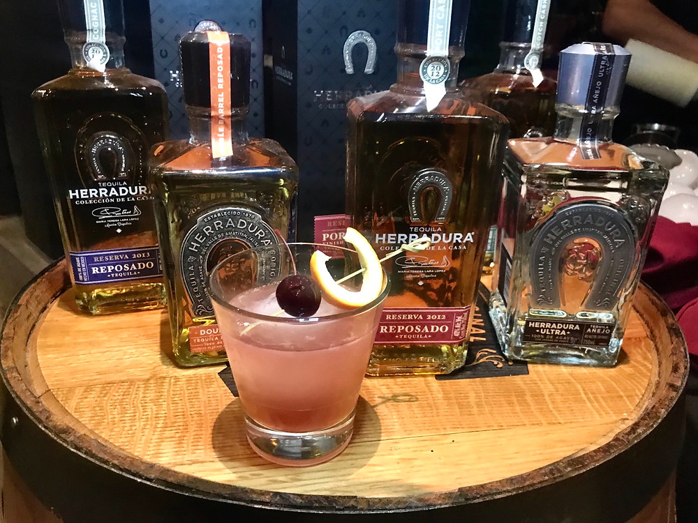 Miguel's Herradura Double Barrel Reposado Tequila Cocktail