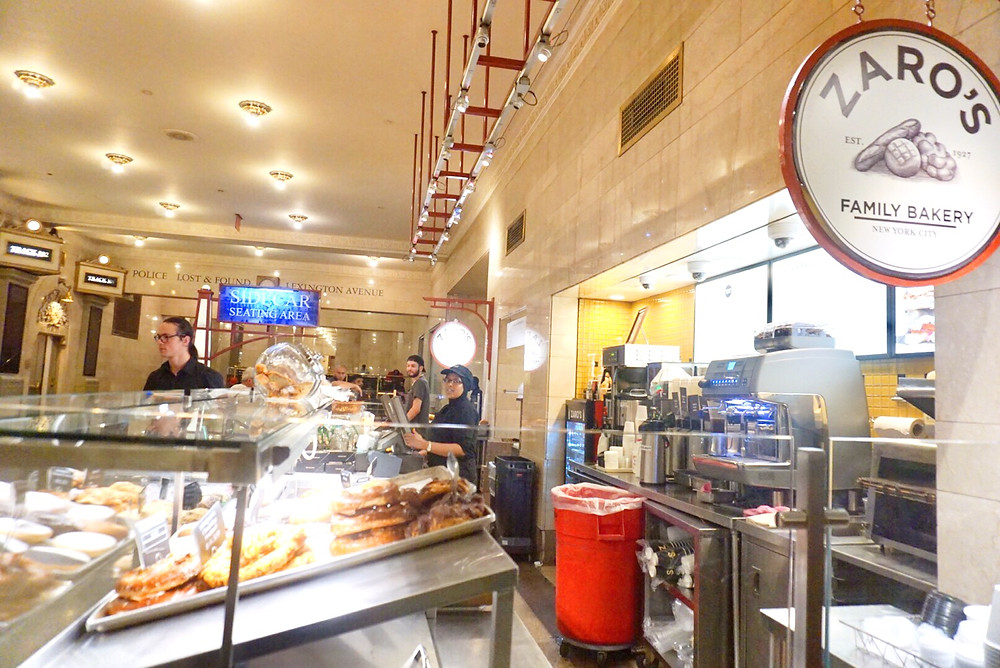 ZARO'S BAKERY GRAND CENTRAL TERMINAL DINING CONCOURSE New York