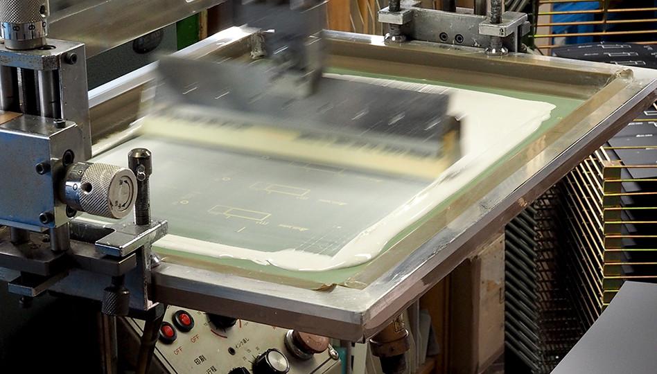 シルク印刷機B