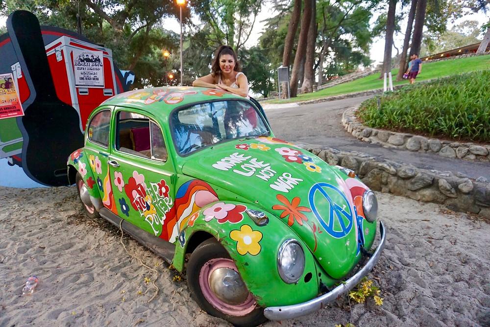 Los Angeles COUNTY FAIR BUG PARK CAR VOUXWAGON VEHICLE HIPPIE