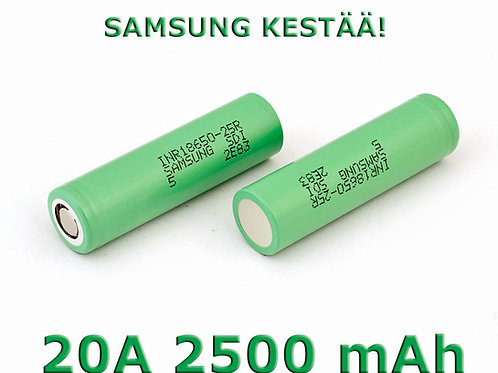 Samsung 25R 2500mAh