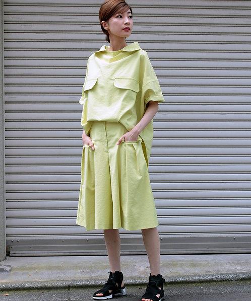 Cotton linen ox blouse