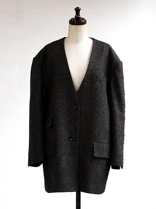Tweed jacket with fringe Jacket