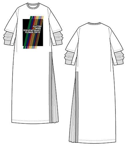 Import shiny print dress