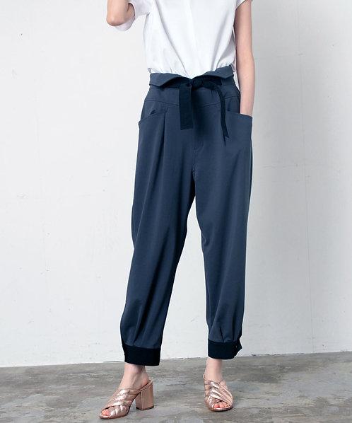 Jersey high waist pants