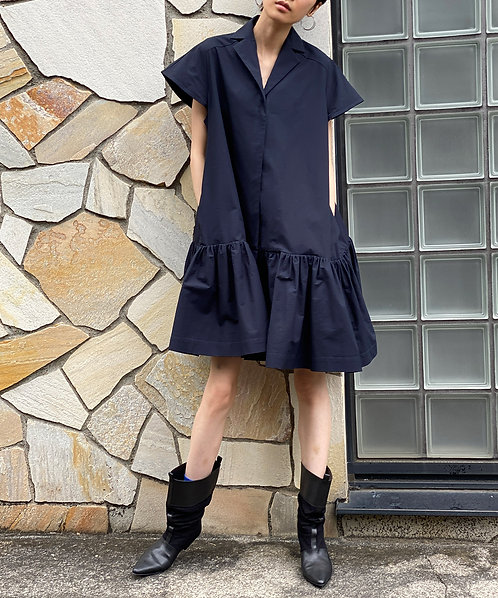 High count washer blouse