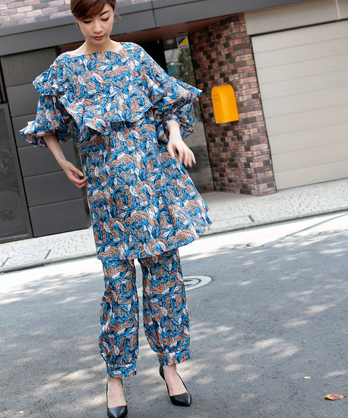 Exclusive Import printed  blouse