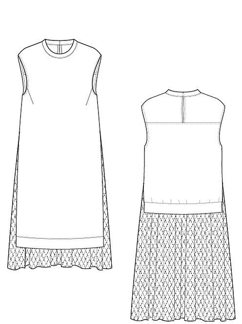 Race switch dress