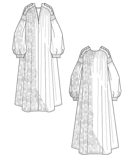 Import floral maxi dress