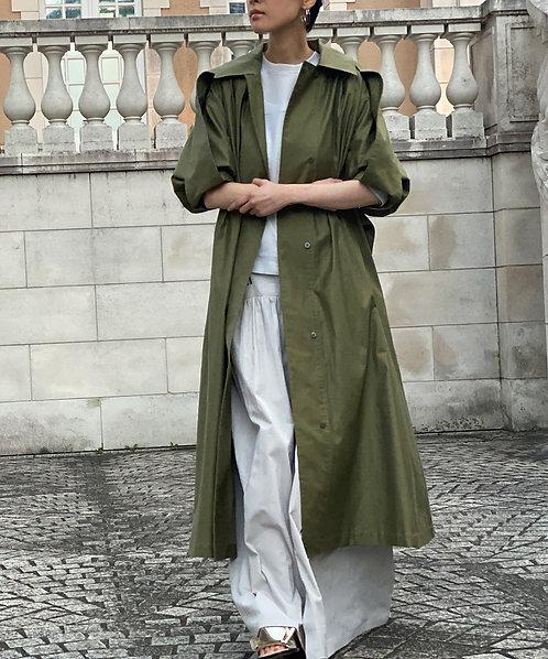 Light moleskin coat dress