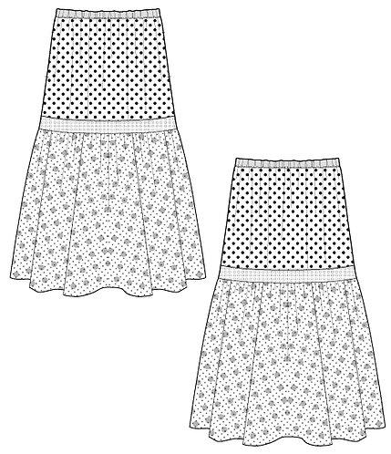 Import dot skirt