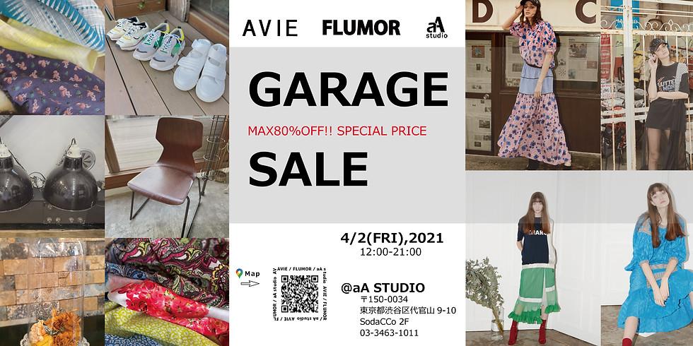 AVIE / FLUMOR  GARAGE SALE