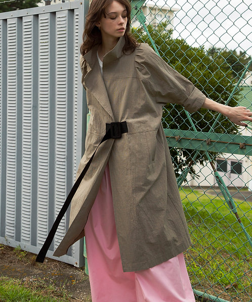 Washer check design coat