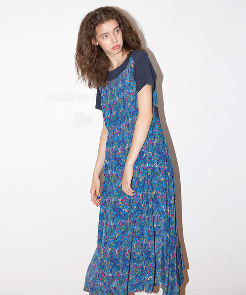 Imported flower dress