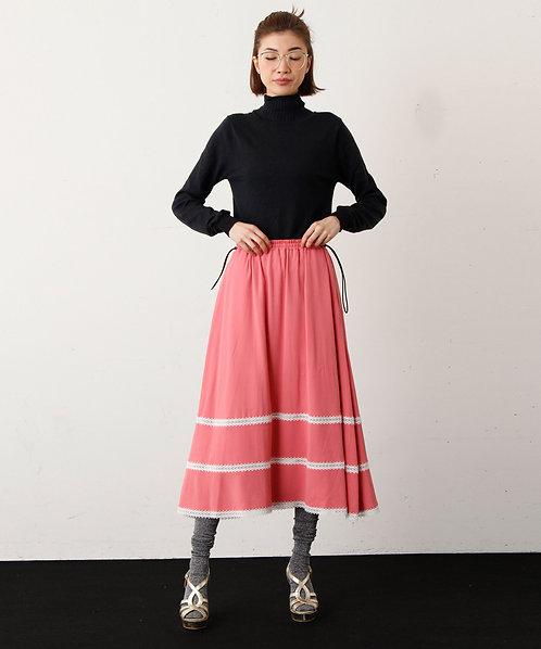 Import Back satin georgette Skirt