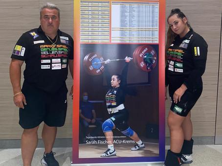 3 fache Staatsmeistertitel für Olympionikin Sarah Fischer