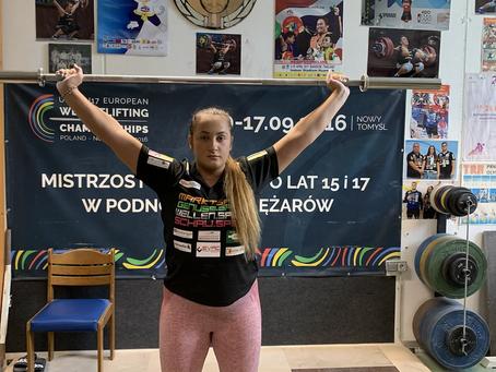 Unsere Olympiastarterin Sarah Fischer