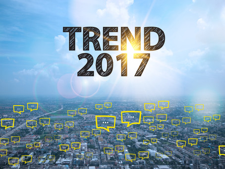 Top five digital marketing trends for 2017
