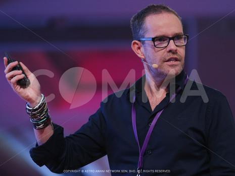 James Gaubert Speaks at Comma Asia