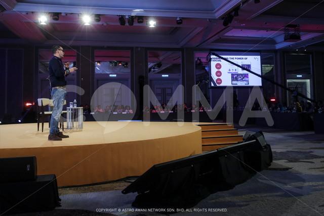 James Gaubert Speaking at Comma Event 2017