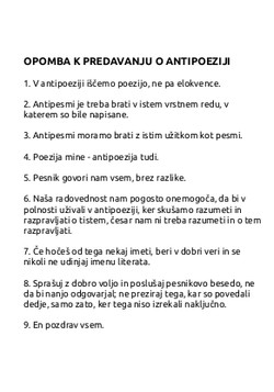 NICANOR PARRA_Pesmi | Poemas
