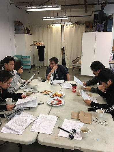 made in exile workshop photo taken by Ri
