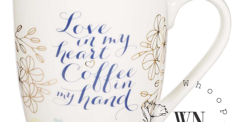 LOVE IN MY HEART MUG