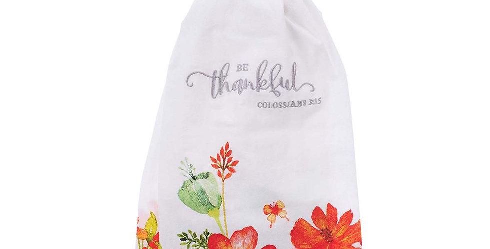 Be Thankful- Tea Towel