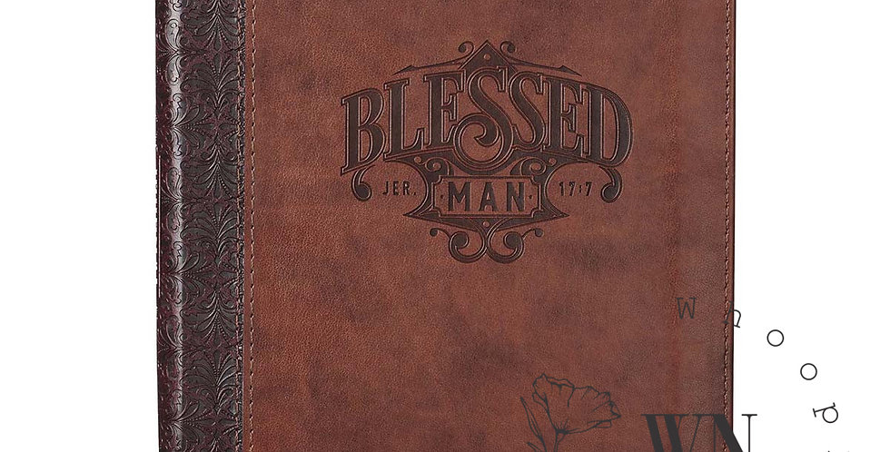BLESSED MAN-JOURNAL