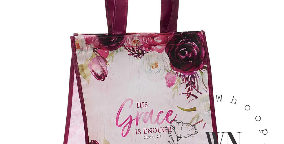 HIS GRACE IS ENOUGH-TOT BAG
