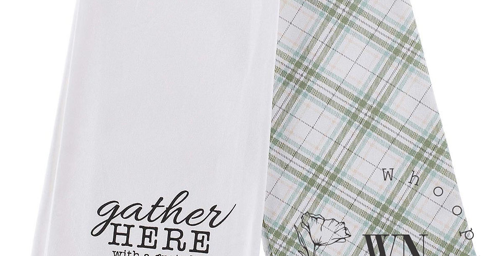 GATHER HERE- TOWEL SET
