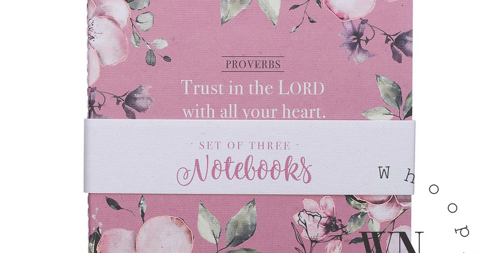TRUST IN THE LORD- NOTEBOOK SET