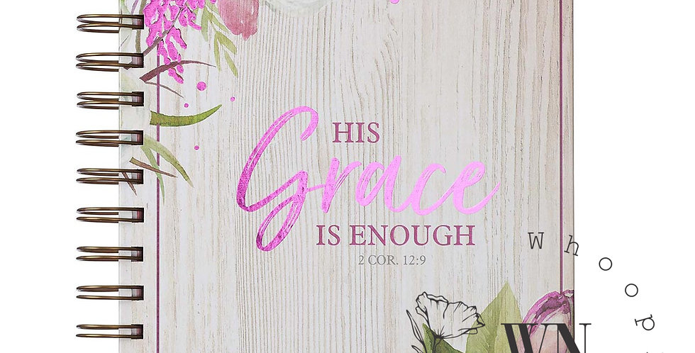 HIS GRACE IS ENOUGH-WIREBOUND JOURNAL