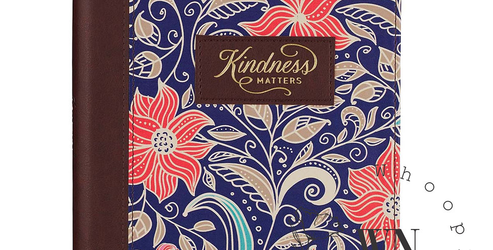 KINDNESS-LEATHER JOURNAL