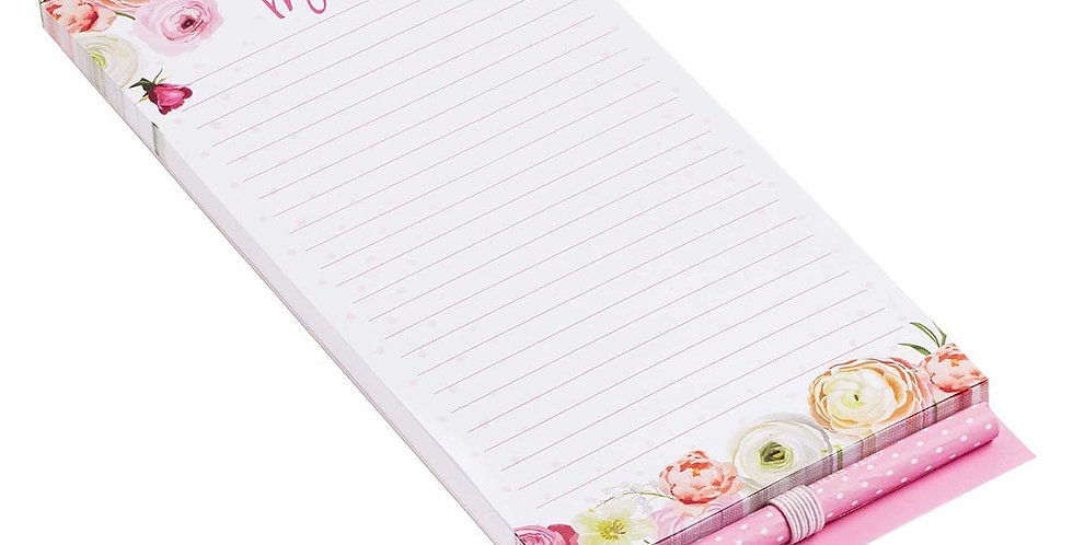 I Love you Mom- Magnetic Notepad