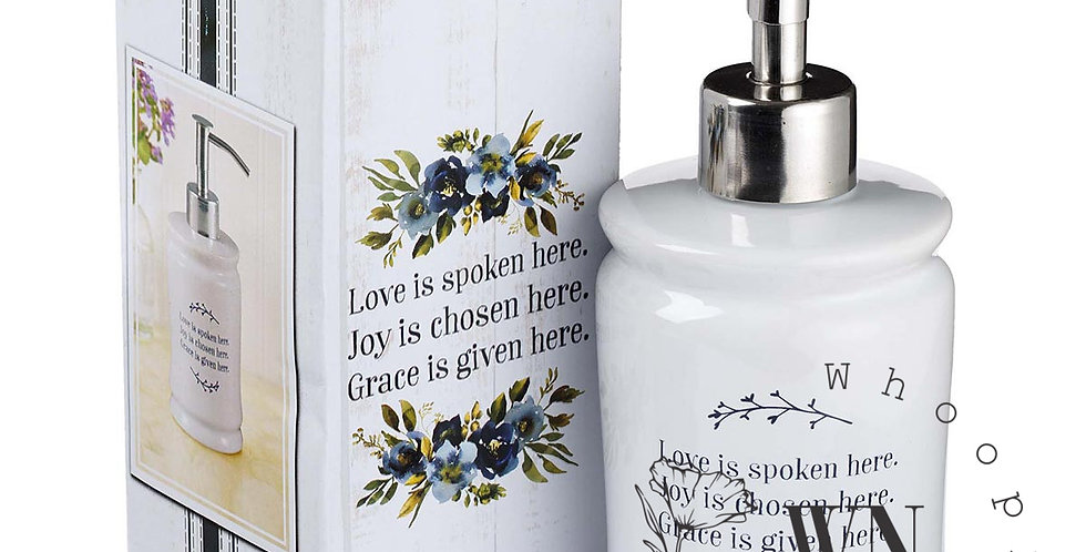 LOVE JOY GRACE- SOAP DISPENSER