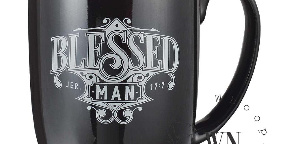 BLESSED MAN-MUG