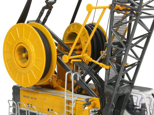 Bauer Cable Crane MC96 c/w Trench Cutter