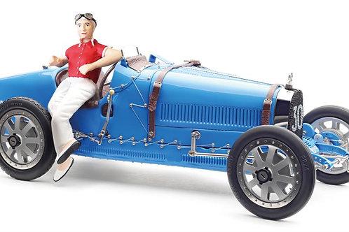Bugatti T35 with Figurine
