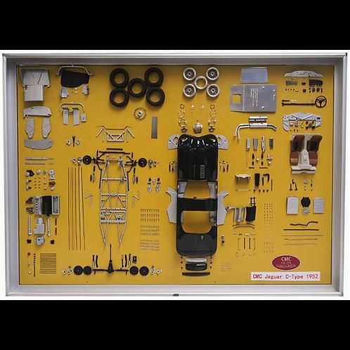 Jaguar C-Type Parts Display